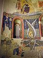 024 Absis de Santa Maria d'Àneu, serafí, clergues donants i arcàngels Miquel i Gabriel.jpg