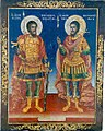06 Saints Theodore Tyron and Theodore Stratelates Icon from Saint Paraskevi Church in Adam.jpg