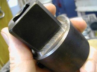 Gas tungsten arc welding - GTAW fillet weld