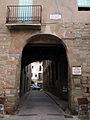 096 Portal de Sant Francesc, o de Cal Valeri (Santpedor), cara oest.JPG