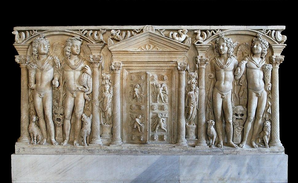 0 Sarcophage - Quatre saisons - Musei Capitolini - MC1185 (2)