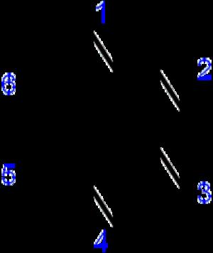 Tetrazine - Structure of 1,2,3,4-tetrazine