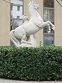 1030 Ungargasse 60 - Renaissance Hotel - Plastik Pferd und Pferdebändiger IMG 0646.jpg