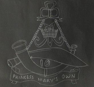 10th Princess Mary's Own Gurkha Rifles - Image: 10gurkharifles