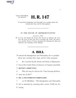 116th United States Congress H. R. 0000147 (1st session) - Visa Overstay Enforcement Act of 2019.pdf
