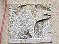 1210 Jedleseerstraße 79-95 Stg. 52 - Relief-Hauszeichen Eber von Rudolf Beran 1955 IMG 0729.jpg
