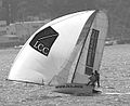 12 foot skiff Lincoln Crowne Flat Out.jpg