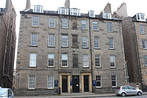 John Cunningham (architect) - Cunningham lived in a flat at 15 Buccleuch Place, Edinburgh