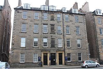 John Cunningham (architect) - Cunningham lived in a flat at 15 Buccleuch Place, Edinburgh