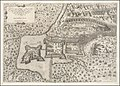 1602 edition of the 1566 map of the Battle of Szigetvár.jpg