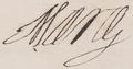 1622 signature of Queen Marie de Médicis of France.png