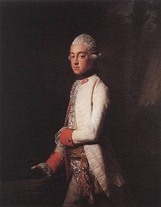 Duke George Augustus of Mecklenburg - Image: 1748 Georg August
