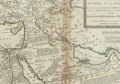 1752 Damascus detail map Turkish Empire by Moll BPL 17082.png