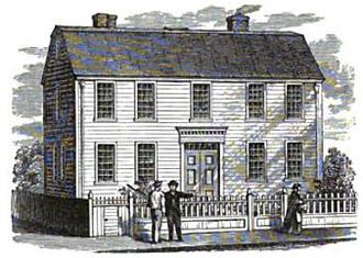 Federal Street (Boston) - Image: 1756 Henry Knox house Federal St Boston