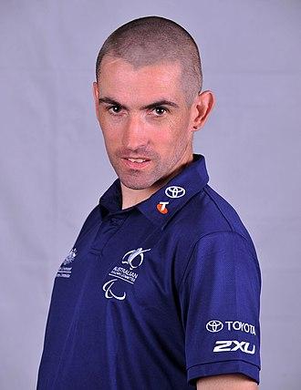 Tim Sullivan (athlete) - 2012 Australian Paralympic Team portrait of Sullivan