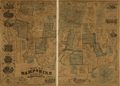 1854 map HampshireCounty Massachusetts byBarker BPL 12700.png