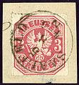 1867 Preussen 3kr Mi24 Saalfeld.jpg
