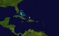 1870 Atlantic hurricane 10 track.png
