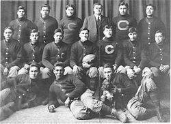 A team picture, men in sweaters