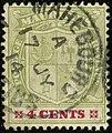1914 4c Mauritius Mahebourg Yv134 SG184.jpg