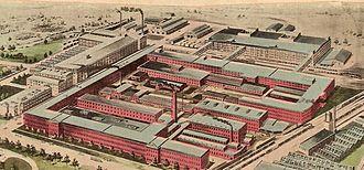 Toledo Complex - Willys-Overland Co. factory (1915)