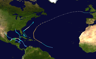1922 Atlantic hurricane season hurricane season in the Atlantic Ocean