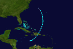 1932 Atlantic tropical storm 1 track.png