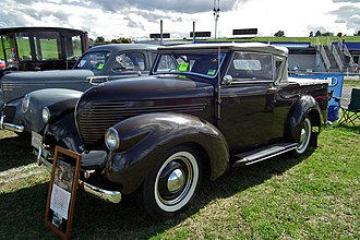 Roadster utility - Image: 1937 Willys roadster utility (6102376045)