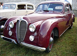 Delahaye 135 - 1949 148L with four-door berline bodywork by Letourneur et Marchand