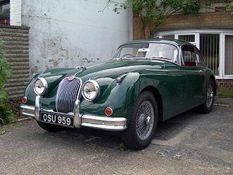 Jaguar XK150 - Image: 1961 XK150 (3660339286)