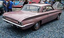 Rear View Of A 1962 Oldsmobile F 85 Club Coupe