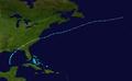 1965 Atlantic tropical storm 1 track.png