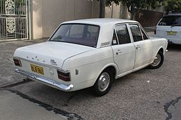 1970 Ford Cortina (Mark II) L 1600 sedan (26385981632).jpg