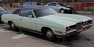 Ford LTD (Americas) - 1971 Ford LTD Brougham 2-Door Hardtop