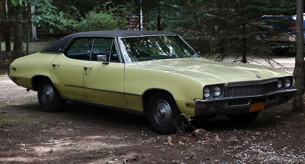 File 1972 Buick Skylark Custom 4 Door Hardtop Sedan Front Right Jpg Wikimedia Commons