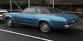 1974 Chevrolet Chevelle Malibu Classic two-door hardtop, rear left side.jpg