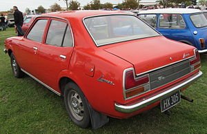 Mitsubishi Lancer (A70) - 1976 Mitsubishi Lancer GL sedan (NZ)