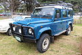 1986 Land Rover 110 Station Wagon (12252480405).jpg