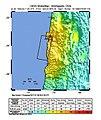 1995 Antofagasta earthquake USGS shakemap.jpg