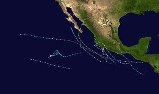 1996 Pacific hurricane season hurricane season in the Pacific Ocean