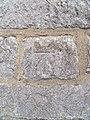 1GL benchmark ^ bolt on St. Mary's Church, Caernarfon - geograph.org.uk - 2086135.jpg