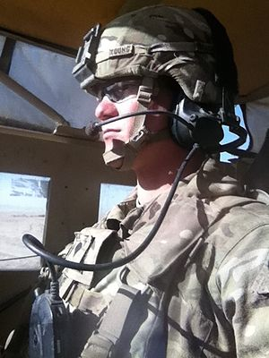 22nd Infantry Regiment (United States) - Soldier of 2-22 Infantry Battalion in Afghanistan 2013