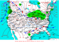2004-01-14 Surface Weather Map NOAA.png