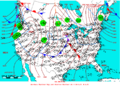 2006-01-16 Surface Weather Map NOAA.png