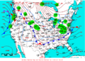2007-02-07 Surface Weather Map NOAA.png