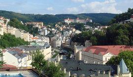 Karlovy Vary Panorama görüntüsü