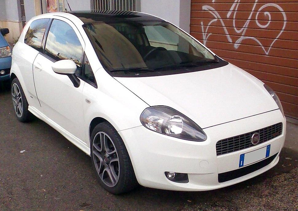 2008 Fiat Grande Punto Sport