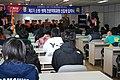 2009년 3월 20일 중앙소방학교 FEMP(소방방재전문과정입학식) 입학식1.jpg