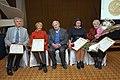 2011 Likhachev Foundation Prize ceremony - Laureats with Daniil Granin.jpg