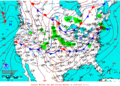 2012-02-23 Surface Weather Map NOAA.png